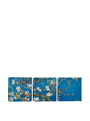 Almond Blossom by Vincent Van Gogh (Panoramic), Blue