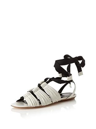 Derek Lam Women's Moira Gladiator Sandal (Bone)