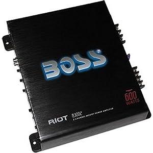 Boss Audio R3002 Riot 600W Full Range Amplifier