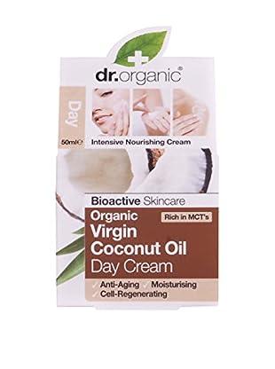 Dr Organic Crema Viso Giorno Virgin Coconut Oil 50 ml