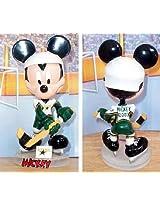 Disney NHL Dallas Stars Mickey Mouse Bobble Head