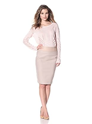 KaufmanFranco Women's Melton Skirt (Ginger)