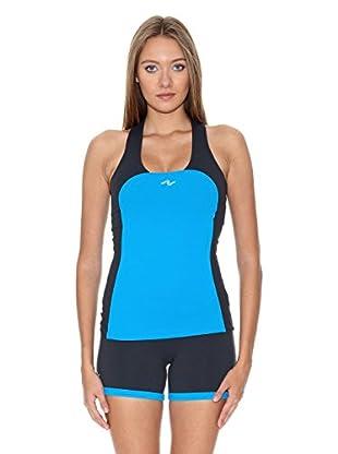 Naffta Camiseta Tenis / Padel (Turquesa / Gris)