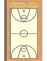 Basketball 2 in 1 Taktikboard Und Trainingsbuch