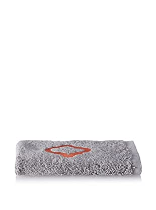 Anali Tangier Wash Cloth, Coral/Grey