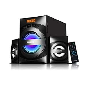 Philips 2.1 Multi media speakers system WITH USB, FM TUNER