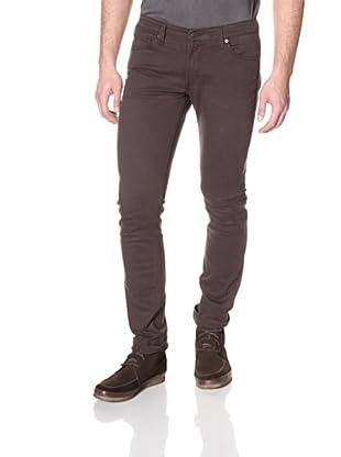 James Jeans Men's Tom Slim Fit Twill Pants (Black Ash)