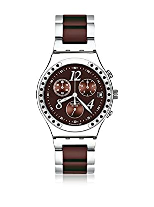 Swatch Quarzuhr Woman Unisex DREAMBROWN 40 mm