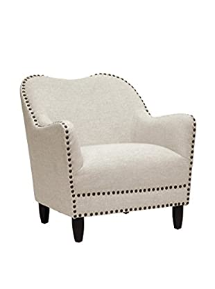 Baxton Studio Seibert Accent Chair, Beige