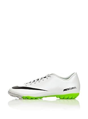 Nike Botas Fútbol Mercurial Victory Iv Tf (Blanco / Verde / Negro)