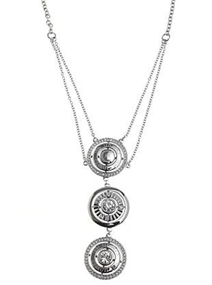 Cerruti Collar R41082Z Circonita Acero y Plata