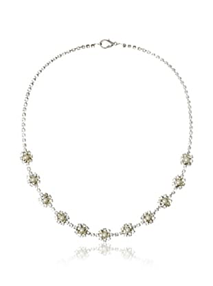 Lulu Frost 1920's Art Deco Multi-Flower Necklace
