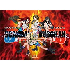 SCANDAL JAPAN TITLE MATCH LIVE 2012 -SCANDAL vs BUDOKAN- [Blu-ray]