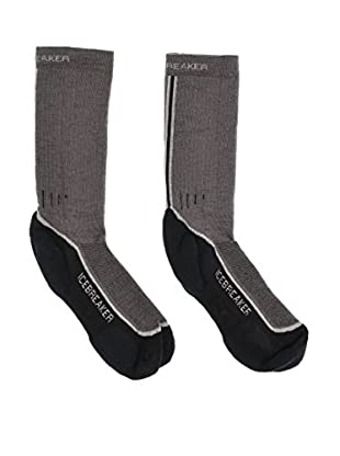Icebreaker  Ib Socks Hike (Brazil/Silver/Black)
