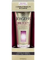 Jergens BB Body Cream for lighter Skin Tones, 7.5 Ounce