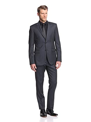 Calvin Klein Collection Men's Bowery 2-Button Suit (Navy)