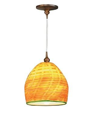 Fusion Z Glass Lighting Comb Jelly Pendant Lamp