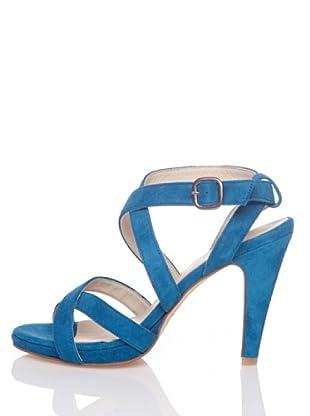 Hakei Sandalias Jeanine (Azul Indigo)