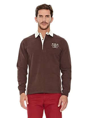 Spagnolo Polo Terry Rugby (Marrón)