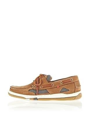 Mistral Shore 20041 - Zapatos de cuero nobuck para hombre (Beige)