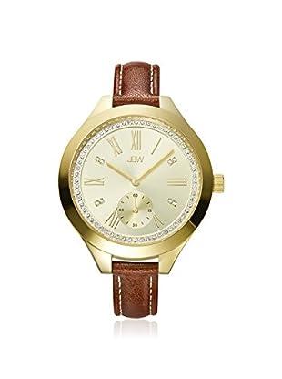 JBW Women's J6309B Aria Brown Leather Watch