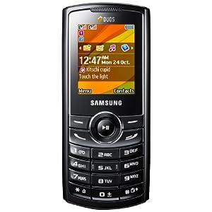 Samsung E2232 Dual SIM Mobile Phone-Black