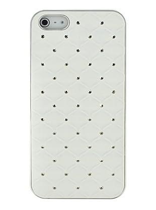 Blautel iPhone 5 Carcasa Protectora Trasera Blanco/Plata