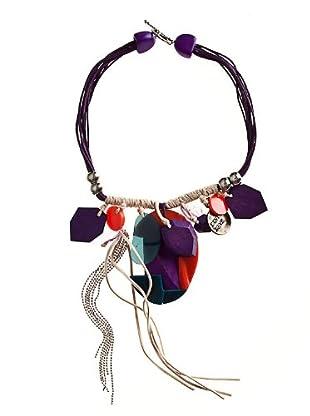 Custo Collar  violeta
