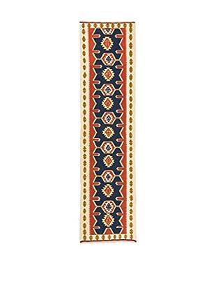RugSense Alfombra Persian Kashkai Azul/Multicolor 289 x 75 cm