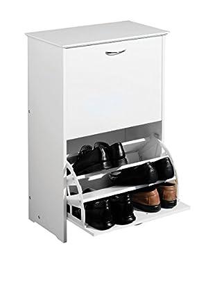 Premier Houseware  Schuhschrank 2401329 weiß