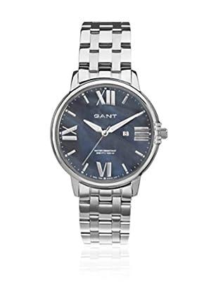Gant Reloj con movimiento cuarzo japonés Brighton W10865 Plateado 38 mm
