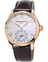 Frederique Constant Analog Silver Dial Men Watch - FC-285V5B4