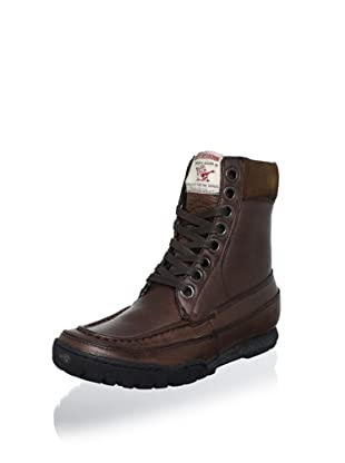 True Religion Men's Riva Leather Boot (Brown)