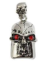 Pen Drive ZT11623 Skull Shape Fancy Jewellery Style 16 GB USB 2.0 pen drive in Silver Color
