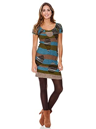LAVAND Vestido Busy Lines (Multicolor)