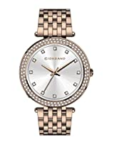 Giordano Analog White Dial Women's Watch - A2021-44
