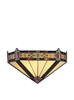 Artistic Lighting Filigree 2-Light Pocket Wall Sconce, Aged Bronze