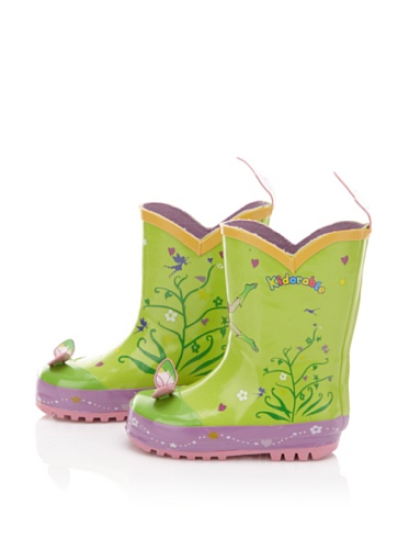 Kidorable Fairy Rain Boot (Toddler/Little Kid) (Green)