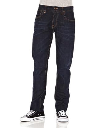 Nudie Jeans Pantalón Sharp Bengt (Azul oscuro)