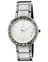 DKNY Analog White Dial Women's Watch - NY4349