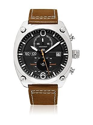 SO & CO New York Uhr mit japanischem Quarzuhrwerk Man GP16113 44 mm