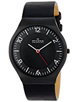 Skagen Analogue Black Dial Unisex Watch - SKW6113