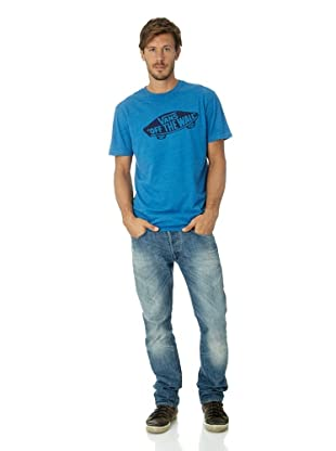 Vans Herren T-shirt Otw, VJAY7 (blue heather/grape)