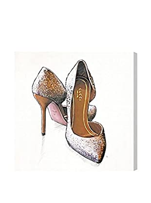 Oliver Gal My Gala Shoes Canvas Art