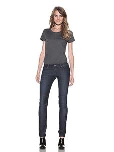 DL 1961 Premium Denim Women's Alex Slim Straight Leg Jeans (Riviera)