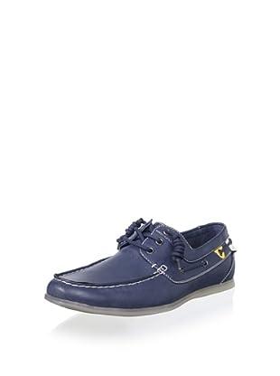 Steve Madden Men's Coolerr Boat Shoe (Navy)