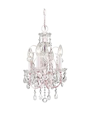 Gold Coast Lighting Paris Flea Market Mini Crystal Chandelier (Blush)
