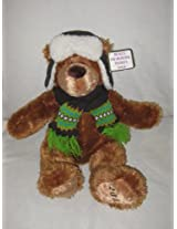 2008 Bealls Palais Royal Peebles Stage - Plush 16 Inch Bear w/ Hat & Scarf by Mary Mayer