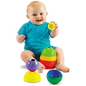Fisher Price W4472 Stack & Roll Cups
