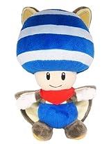 Super Mario Plush Series Plush Doll: 8-Inch Squirrel / Musasabi Blue Toad / Kinopio